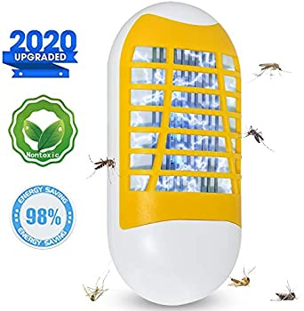 Mavvel Bug Zapper Plug-in Electronic Insect Killer Night Light