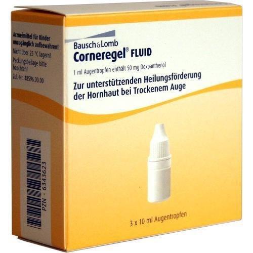 Corneregel Fluid Augentropfen, 3x10 ml