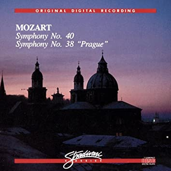 """Symphony No 40, Symphony No 38 """"Prague"""""""