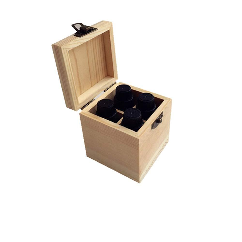 Esencial De Almacenamiento Caja De Aceite Caja De Almacenamiento De Aceite Esencial De Madera-slot-4