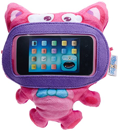 Wise Pet interactif – Protection d'écran pour iPod Touch, iPhone et Android Smartphones, Mini-Kitty