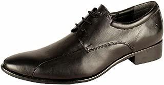 Salt N Pepper 14-689 Senator Black Real Leather LACE UP Shoes
