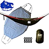 Chill Gorilla Hammock Underquilt. Lightweight Camping Quilt. Hammock Camping Accessories. Multiple Colors