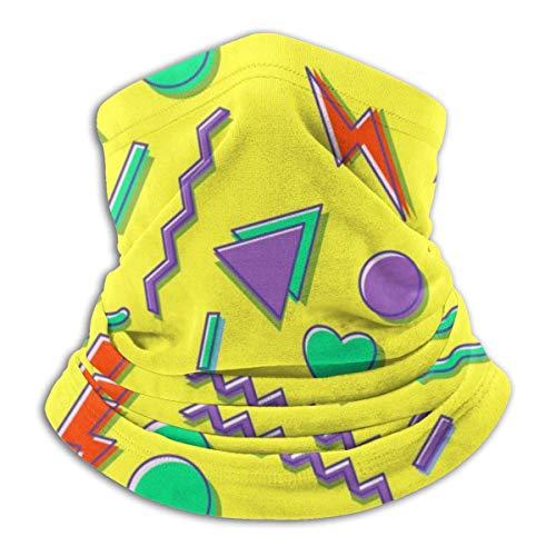 90s Seamless Pattern FunnyMultifunctional Bandana Mask Headwear Headband Helmet Liner Hatliner For Men & Women