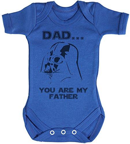 Baby Buddha Dad. You are My Father Body bébé - Gilet bébé - Body bébé Ensemble-Cadeau - Naissance Bleu