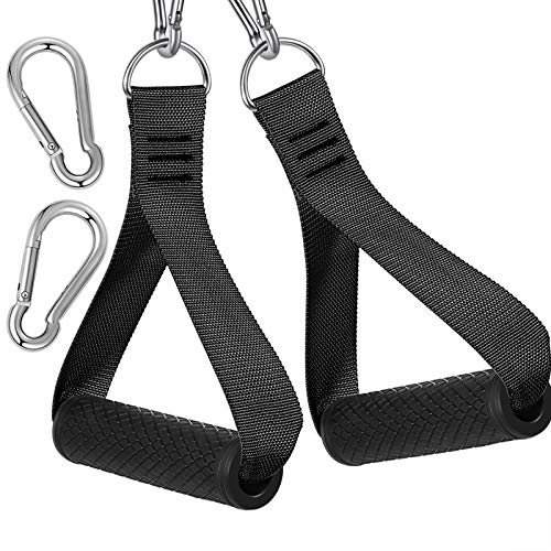 Gym Resistance Bands Exercise Handles - Heavy Duty Fitness...