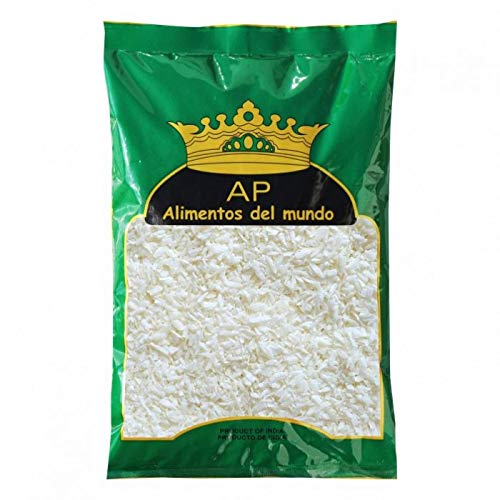 AP - Coco Deshidratado Rallado - Ideal para Reposteria - Producto de la India - 100 Gramos