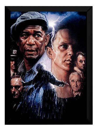 Quadro Arte Um Sonho De Liberdade Decoração Cinema 42x29