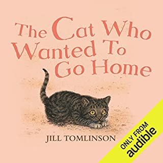 The Cat Who Wanted to Go Home audiobook cover art