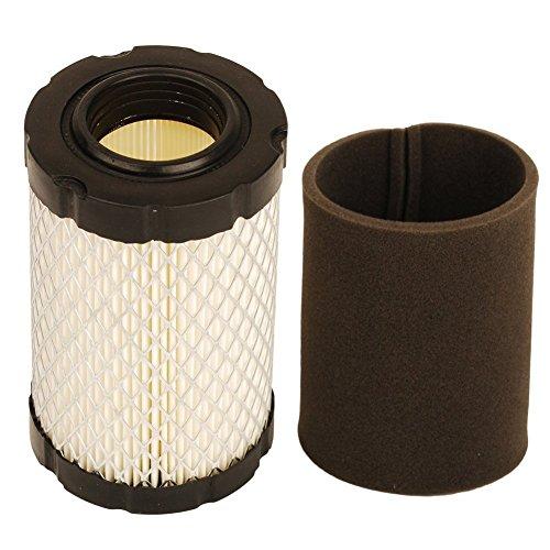 OuyFilters Luftfilter mit Vorfilter für Briggs und Stratton 796031 594201 591334 Vorfilter 797704 Ersetzen John Deere MIU1303 GY21435 MIU13963