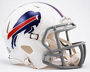 Buffalo Bills Riddell Speed Mini Football Helmet - New in Riddell Box