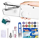 Mini Portable Handheld Sewing Machine, Fabric Curtains Cordless Electric Stitch Household Tool