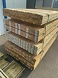 Unterkonstruktion Douglasie 11€/lfm Kantholz Balken Pfosten Unterbau Holz Konstruktionsholz (40x90mm, 200cm)