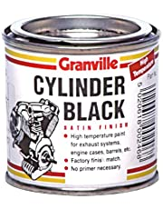 Granville satén Pintura Cilindro Negro Alta Temperatura - 250ml