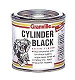 Granville Satin Peinture Cylindre Noir Haute température - 250ml