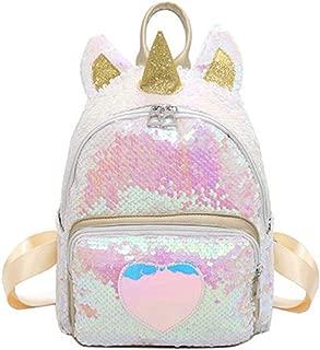 Sequin Unicorn Backpack Toddler Kids Backpacks Bling Paillette Backpack School Bag Purse, Gold (Gold) - YLZL-sb131-01YSL