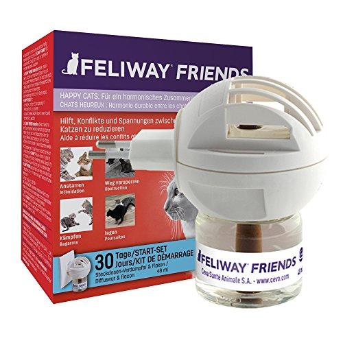 FELIWAY Friends – Anti Conflict voor Kat - Verdamper+ Navulling 48 ml