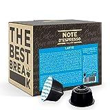 Note d'Espresso Italiano - Cápsulas Leche, Compatibles con cafeteras de cápsulas Nescafé, Dolce Gusto, 48 unidades de 13g, Total: 624 g