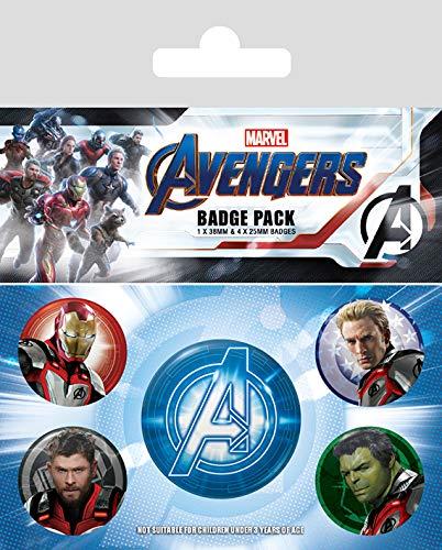 Pack Avengers Endgame - Chapas Quantum Realm Suits