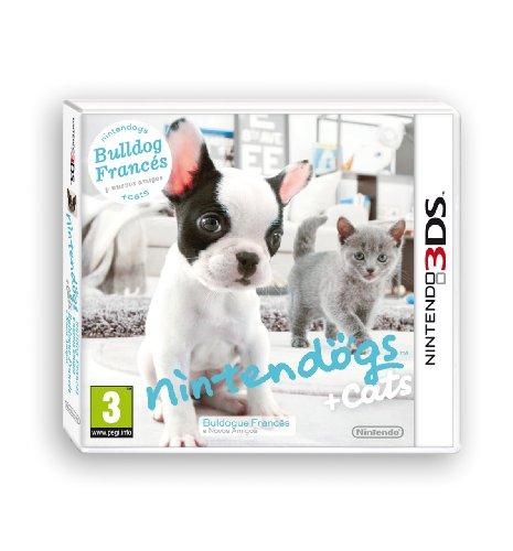 Nintendo 3DS Nintendogs + Gatos: Bulldog
