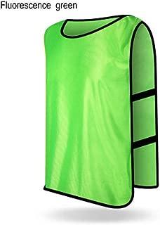 Rayauto 12pcs Kids Adult Scrimmage Jerseys Vest Soccer Basketball Football Pinnies Shorts