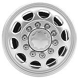 minifinker Cubo de llanta de Rueda Material de aleación de Aluminio de Cubo de llanta de Rueda de 10 Rayos para Camiones Tractores Tamiya 1/14(Front Wheel hub)