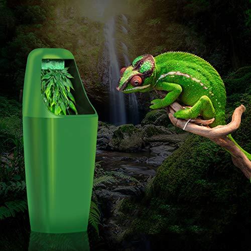 Tutoy Reptitil-Trinkwasser-Filter-Füllstoff Fütterung Chamäleon Lizard Dispenser Terrarium 220-240V Ac