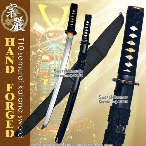 Munetoshi T-10 Handmade Samurai Wakizashi Sword Bonsai