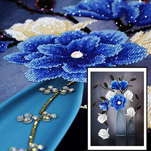 RUIKESI DIY Diamond Painting, Special-Shaped Diamond 5D Full Diamond Round Diamond Painting, Living Room, Bedroom, dot Stick Diamond-Special-Shaped Drill 5575