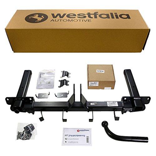 Westfalia starre Anhängerkupplung für Opel Astra J Sports Tourer (BJ 11/10 - 01/16) im Set mit 13-poligem fahrzeugspezifischen Westfalia Elektrosatz