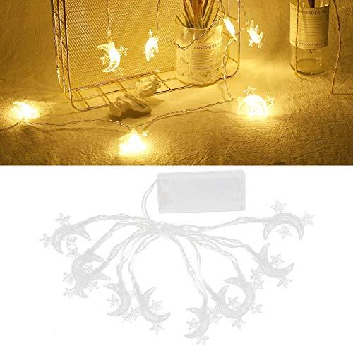 Lámpara de decoración, cadena de luces, 3 piezas 10 LED para decoración del hogar, iluminación de jardín interior y exterior
