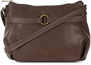 Baggit Women's Synthetic Sling Bag (Brown) (Lo5 Cast Y G Z)