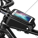 KUDALL Telai per bicicletta farhrradlenkertasche top tubo borsa borsa impermeabile telefono cellulare tasca adatto per smartphone con touch screen handset/all'interno della testa di 6-inch foro, TPU