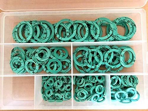 41 piezas KLINGERSIL C-4400 3//8-1 Juego de juntas planas para sanitarios