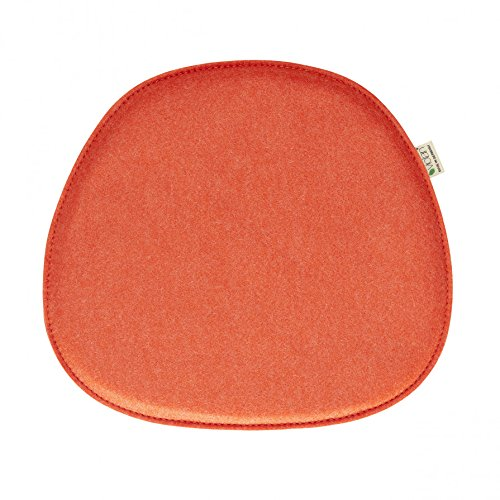 Violan Sitzkissen orange - kompatibel mit Eames Side Chair