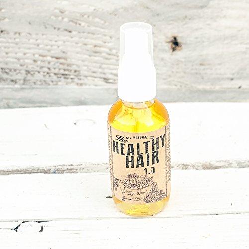 organic hair oil, hair conditioner, oil treatment,natural hair growth, argan oil, Healthy Hair 1.0