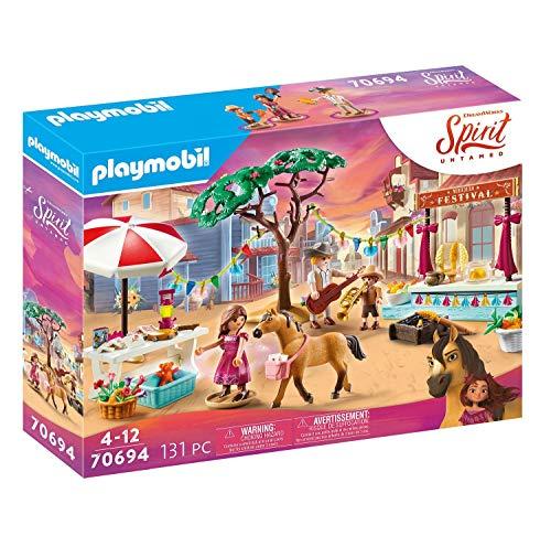 PLAYMOBIL DreamWorks Spirit Untamed 70694 Miradero Festival, Ab 4 Jahren