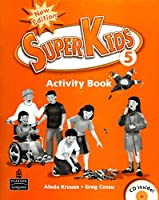 SuperKids (2E) Level 5 Activity Book with CD
