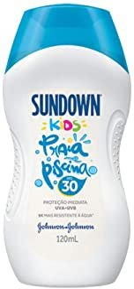 Protetor Solar Praia e Piscina Sundown Kids FPS 30, 120ml