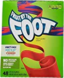 Fruit by the Foot Fruit Snacks Variety Pack Net Wt (48Count/0.75 Oz Net Wt 36 Oz),, ()
