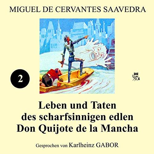 Couverture de Leben und Taten des scharfsinnigen edlen Don Quijote de la Mancha: Buch 2