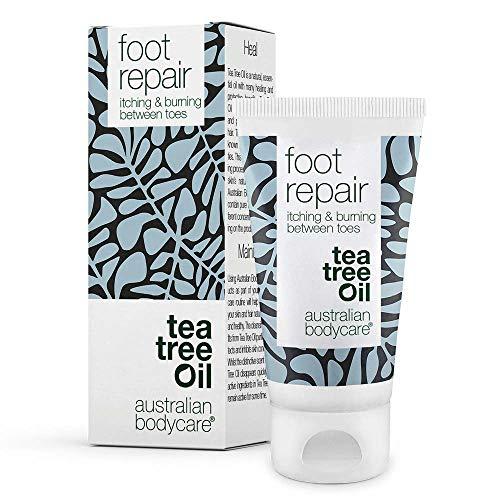 Australian Bodycare Foot Repair | Natürliches Gel für Frauen & Männer zur Fußpflege bei Juckreiz, Brennen, Rötungen zwischen den Zehen | Auch zur therapiebegleitenden Pflege bei Fußpilz anwendbar 50ml
