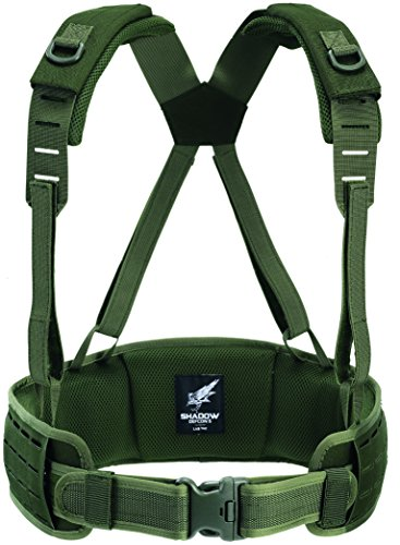 DEFCON 5Shadow Loading Harness Transporte Vajilla, Todo el año, Unisex, Color OD Green, tamaño S-M