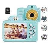 Vannico Camara de Fotos para Niños, Camara para Niños Video Cámara Infantil 8MP 1080P HD 16GB Tarjeta de Memoria Incluida (Azul)