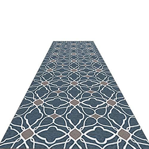 Alfombra Alfombra del pasillo Escalera del pasillo alfombra del hall de entrada Exquisito patrón de decoración Antideslizante a prueba de polvo Se usa for proteger el piso Cocina Sala Estar Dormitorio