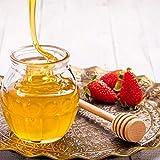 50 Pcs/Satz Haushalt Holz Tragbare Mini Marmelade Honig Dipper Jar Dispensing Sammeln Rührstab Stick Mino Dispense Drizzle Honig(8CM) - 8