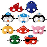 Nice Orange 10pcs The Octonauts Blindfold, The Octonauts Theme Party Supplies, boy and Girl Birthday Party Dress Props.