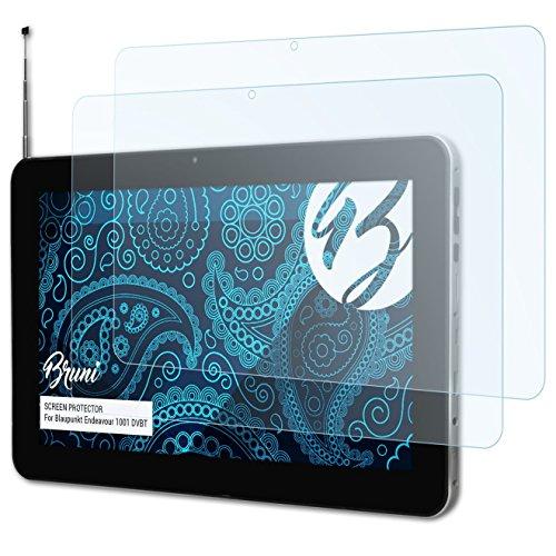 Bruni Schutzfolie kompatibel mit Blaupunkt Endeavour 1001 DVBT Folie, glasklare Bildschirmschutzfolie (2X)