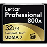 Lexar 32 GB Professional 800x Compact Flash Memory Card with Jewel Case