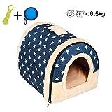 Enko 2 en 1 Cómodo Casa para Mascotas y Sofá, Interiores y...